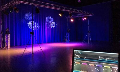 Setup and film a promo video